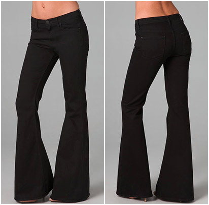 Perfect Pant Lengths for Flared Bottoms - YLF