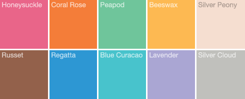 Pantone Spring 2011 Spring And Summer 2011