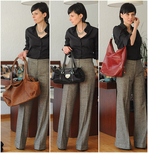 How to Wear Wide Leg Trousers - YLF