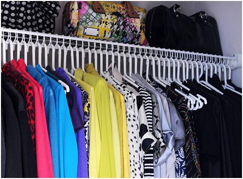 Image result for colour code closet