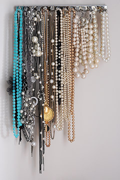 how to store necklaces   ylf