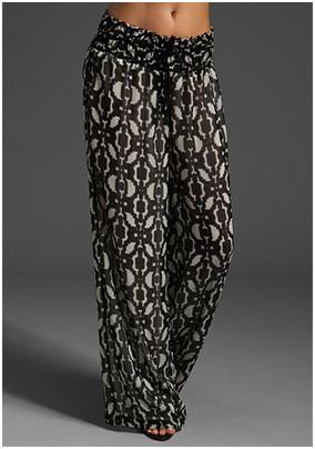 Fringe Trend: Printed Pants - YLF