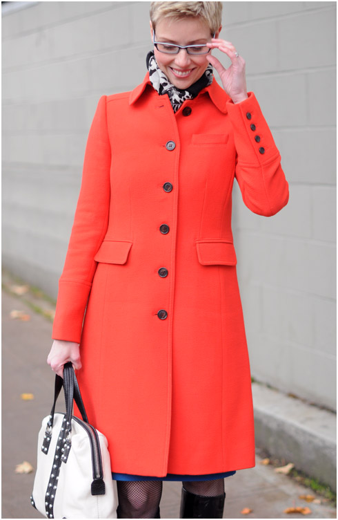 A Happy Red Coat and a Sad Blue Dress - YLF