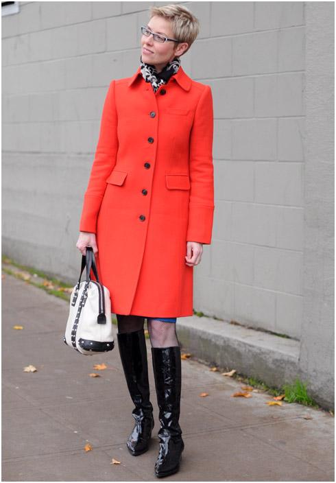 A Happy Red Coat And A Sad Blue Dress Ylf