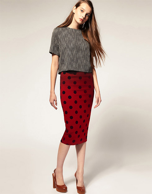 Take the Bombshell Out of a Pencil Skirt - YLF