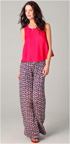 Soft, Wide Leg, Printed Pants: Yay or Nay - YLF