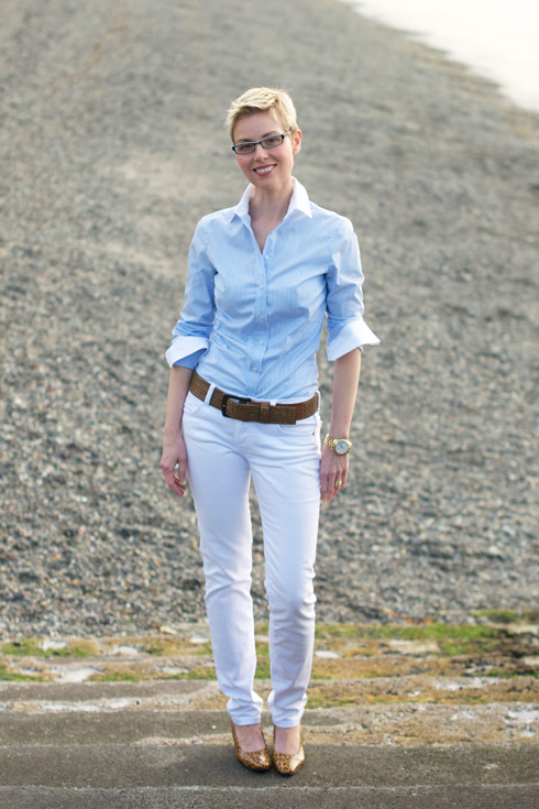 A Soft Masculine Look for Summer - YLF