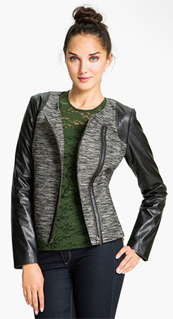 More Details Caroline Rose Free-Flowing Full-Sleeve Tweed Saturday Topper Jacket, Plus Size Details Caroline Rose topper jacket in multi-shade tweed. Draped, open front. Draped, open front. Full sleeves cuff to bracelet length.