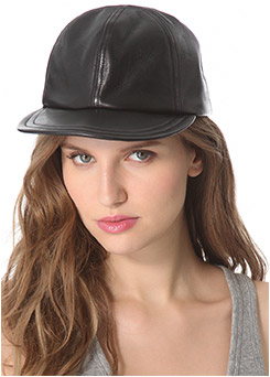 Eugenia Kim Darien Leather-Baseball Cap