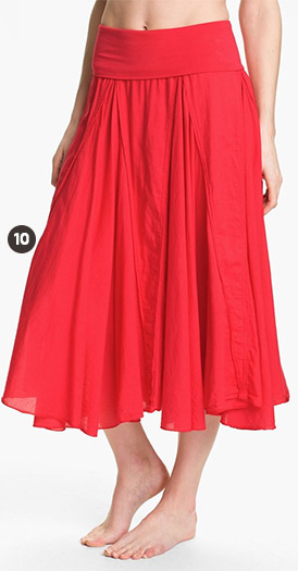 Hard Tail Voile Long Skirt