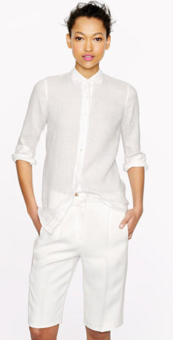 J.Crew Collection Tuxedo Snakeskin Short