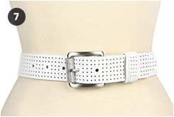 Nike Perforated Golf Belt