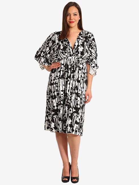 Caftan dress plus size