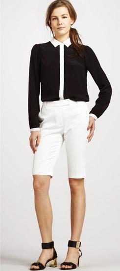 Rachel Zoe Daemon Bermuda Shorts