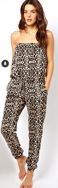 River Island Animal Jumpsuit