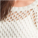 Soft Joie Addler Net Knit Sweater