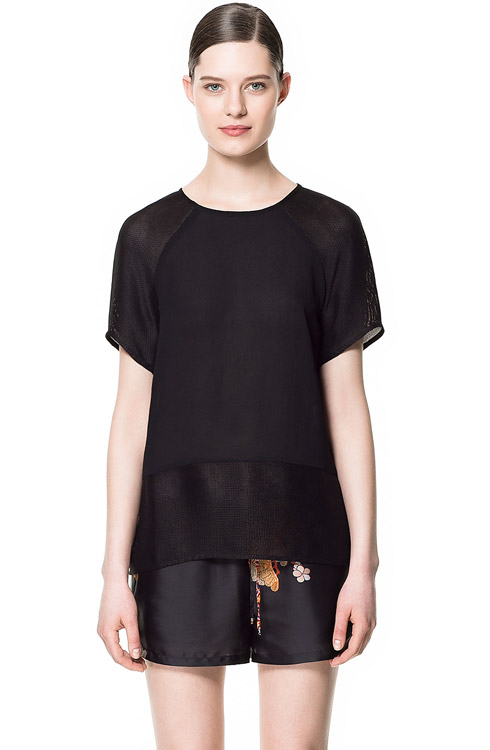 Zara Combination Top