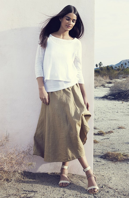 Eileen Fisher Top, Tank and Skirt