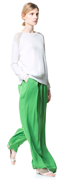 Flowing Sarong Trousers