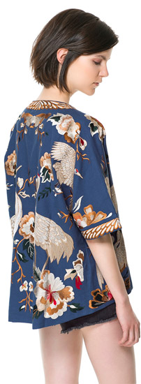 Kimono Sleeve Loose Jacket
