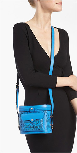 Rebecca Minkoff Craig Crossbody Camera Bag - Cerulean