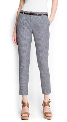 Striped Seersucker Trousers