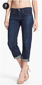 AG Jeans Tomboy Crop Stretch Jeans