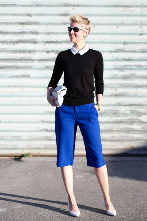 Tin Tin in Long Shorts and Lace | youlookfab | Bloglovin'