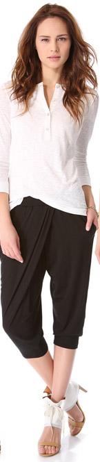 Harem Pants with Pockets