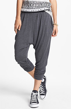 Knit Harem Pants