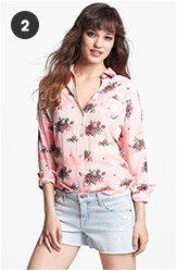 Maison Scotch Toile de Jouy Shirt