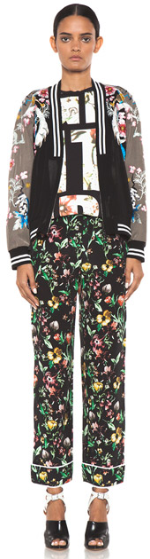 3.1 Phillip Lim Faded Botanical Pajama Pant