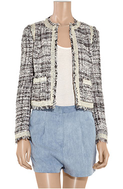 Tory Burch Tweed Box Jacket
