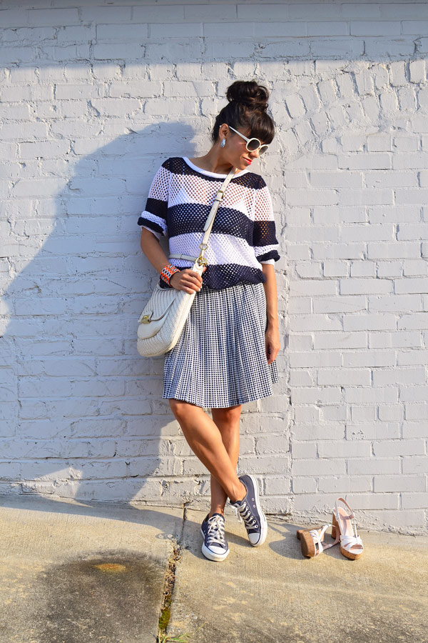 Converse with Skirt