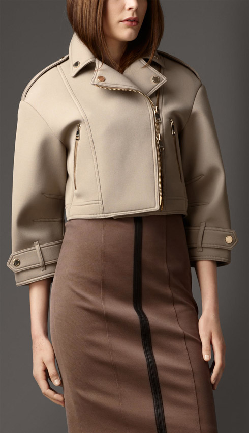 Burberry Sculptural Biker Jacket