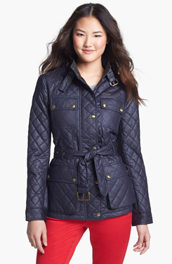 MICHAEL Michael Kors Quilted Field Jacket