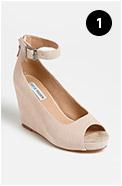 Steve Madden Lesliee Ankle Strap Wedge Sandal