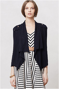 Anthropologie Draped Flaneur Cardigan