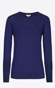 Contrast Sleeve Jumper