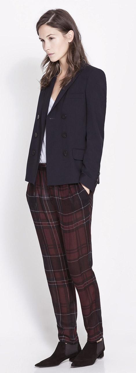 Zara Double Breasted Blazer