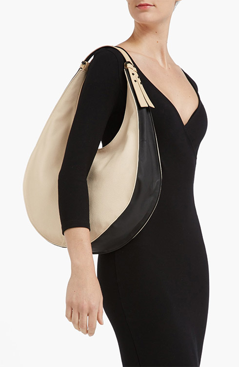 French Connection Double Handle Hobo