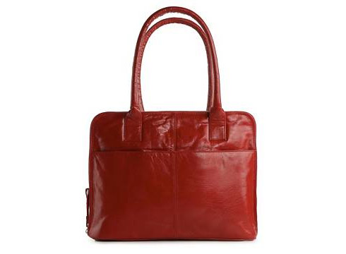 Leather Zip Around Tote