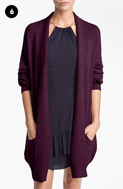 Tildon Bouclé Knit Robe Cardigan