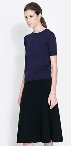 Zara Silk Cotton Sweater