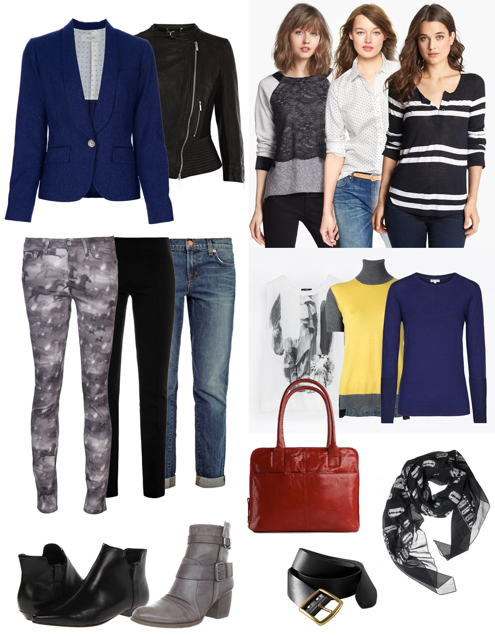 One Capsule, Many Outfits: Casual Wear for Fall
