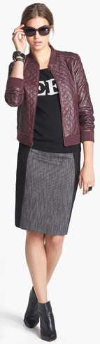Halogen Jacket, Skirt & Max and Mia Sweater