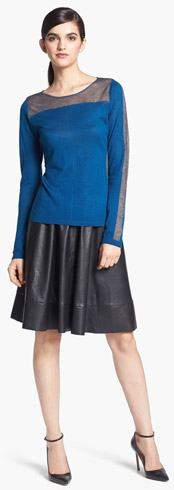Trouvé Sweater & Search for Sanity Skirt