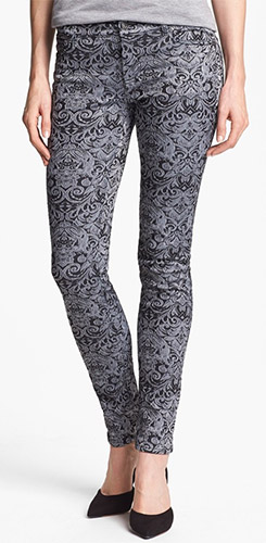 Two by Vince Camuto Jacquard Skinny Jeans
