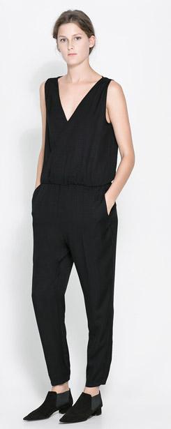 Zara Jumpsuit with Elastic Waist