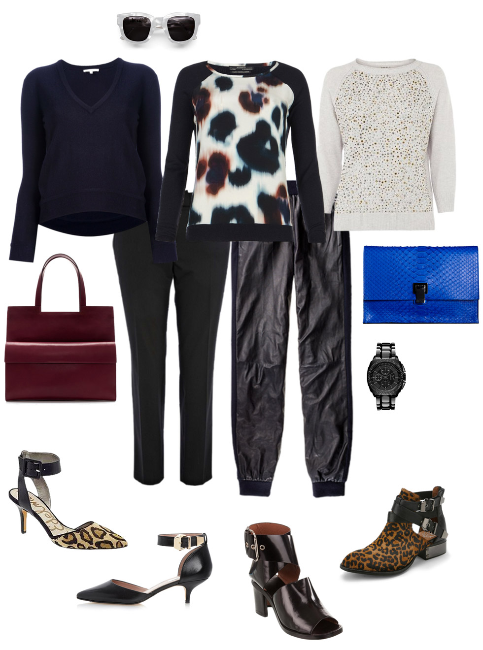 Ankle Pants and Ankle Strap Shoes